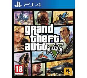 GTA V for Xbox One & PS4 at Argos for £25.99