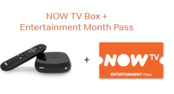NowTV 1 month Cinema Bundle for £5.00 after Quidco cashback offer