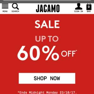 Jacamo 60% off - plus Free click and collect over £40