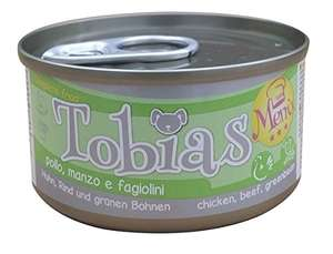 CROCI Tobias Recipe for Dogs with Chicken/Beef and Green Beans, 85 g, Pack of 24 £1.05 @ Amazon - Add on item