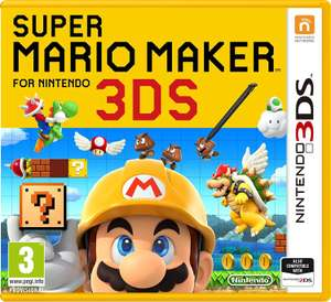 Super Mario Maker 3DS £18.99 @ Base