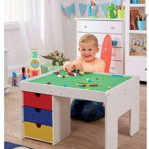 Brick building table, was £149.99 now £54.99 delivered @ studio