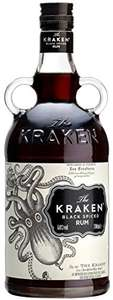 Kraken Black Spiced Rum, 70 cl £20 @ Amazon