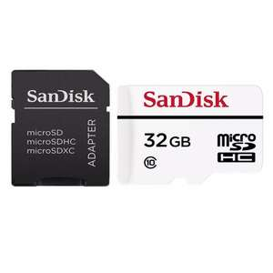 SanDisk 32GB High-Endurance Micro SD Card (SDHC) £15.29 (Free Delevery) at MyMemory £15.29 with code