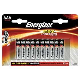 Energizer Max + Power Seal Alkaline AAA Batteries £3.83 @ Asda