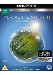 Planet Earth II (4k UHD Blu-ray + Blu-ray)  £19.99  Base