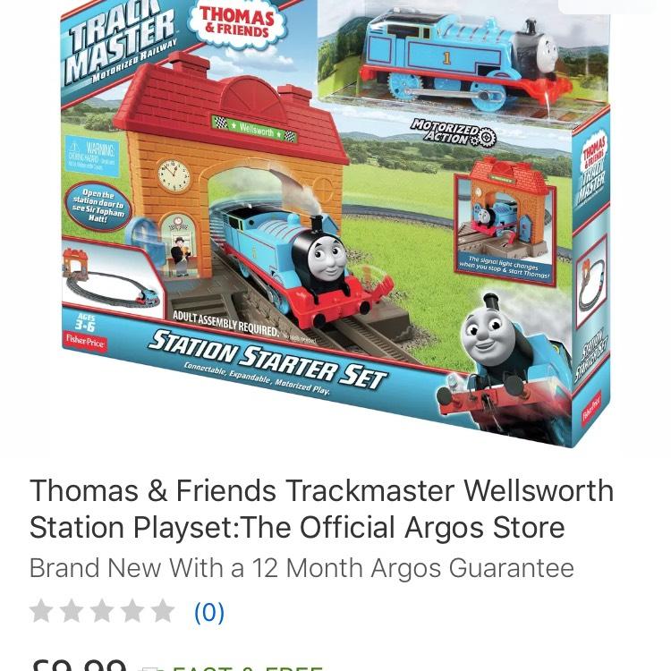 Thomas & Friends Trackmaster Motorised Starter Train Set - Free P&P £9.99 @ Argos / Ebay