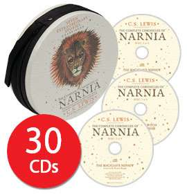 The Complete Narnia Audio Collection - 30 CDs £14.39 delivered @ The Book People