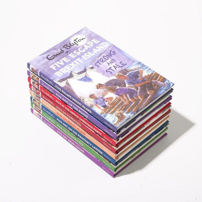 Enid Blyton Adult Fantastic 5 books £7.99 each +£2.99 del @ Firebox