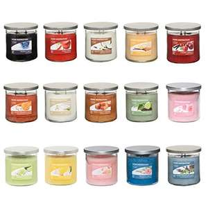 £5 Each For Home Inspiration Yankee 340g Twin Wick Tumblers - 4 pack for £20 - Sold by My Swift / Fulfilled by Amazon