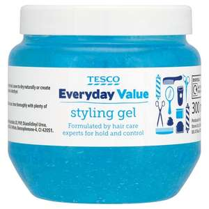 Hair gel, just 30p from Tesco!
