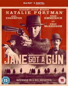 Jane got a gun Blu-ray western £2.96 delivered at music magpie with code 10direct (movie film new with digital copy)