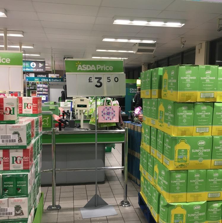 Ktc sunflower oil 5 litre - £3.50 found instore @ ASDA (Bolton)
