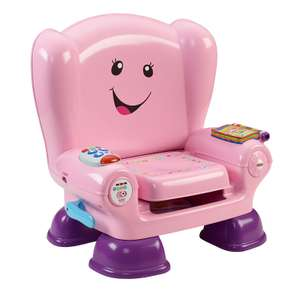 Fisher Price Pink Laugh and learn chair £25.43 @Amazon 2-4 weeks delivery