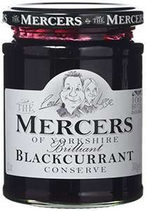 Mercers Blackcurrant Conserve 340 g (Pack of 6) £5.98 Amazon Add on item