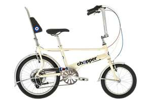 2017 Raleigh Chopper MK 3 Limited Edition Retro Bike Pearl White £209.95 @ Parkers of Bolton