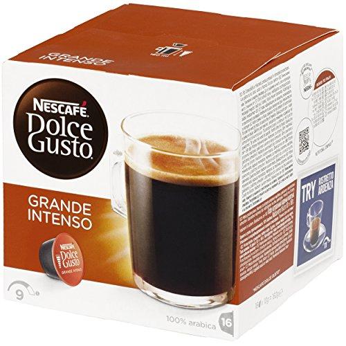 NESCAFÉ Dolce Gusto Grande Intenso Coffee Pods 16 £4.35 @ Amazon (Add on item)