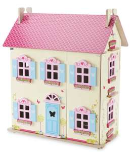 Little Town Wooden Dolls House Aldi £29.99 FREE DELIVERY dispatch 26 October