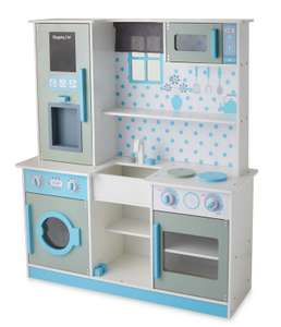 Little Town Premium Wooden Kitchen Aldi £79.99 Aldi free delivery dispatch 26 October