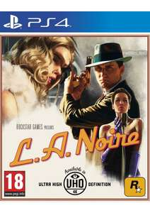 [PS4/Xbox One] L.A Noire - £26.85 - Simply Games