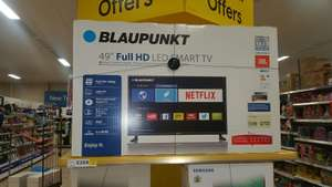 "Blaupunkt 49"" Full HD Smart LED TV £259 instore @Tesco (Aldershot)"