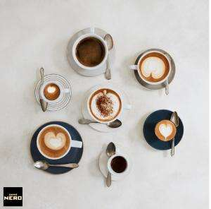 O2 Priority - Free any size hot drink at Caffè Nero today 24 October after 12pm