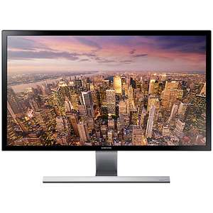 "Samsung U28E590DS 4K Ultra HD LED PC Monitor, 28"", Black £209.99 @ John Lewis"