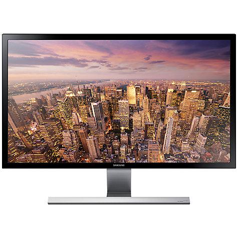 "Samsung U28E590DS 4K Ultra HD LED PC Monitor, 28"", Black £209.99 @ John Lewis"