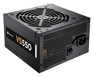 Corsair VS Series ATX/EPS 80 PLUS Power Supply Unit, 550 W, £40.97 from Amazon