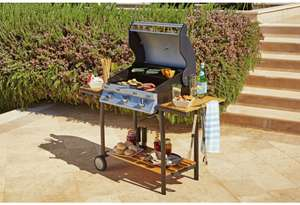 3 Burner Gas BBQ With Shelf £69.99 @ Argos (P&P £6.95)