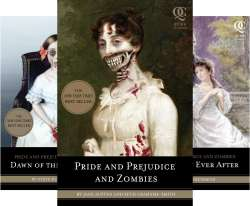 Pride and Prejudice and Zombies 3 Book Series Kindle Edition for £5.43 or £1.81 each