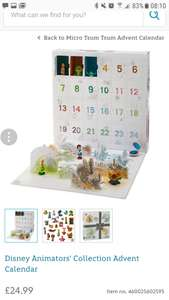 Disney Animator Advent Calendar £24.99 plus £3.95 postage @ Disney Store