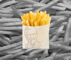 HAPPY FRIES-DAY! FREE FRIES ON FRIDAYS KFC APP