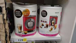 Nescafe Dolce Gusto Krups Machine in Tesco (found Allerton) for £29