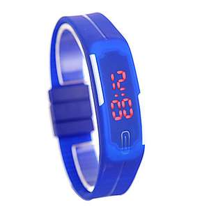 Digital LED Watch with Date  (Various Colours) 71p each @ LITB