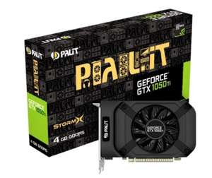 Palit GeForce GTX 1050 Ti StormX 4GB GDDR5 GPU, £124.98 from Ebuyer