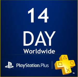 PlayStation PSN Plus Card 14 Days UK £3.56 @ SCDKey