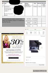 30% new and existing very exclusive customers GHD set for £139.70 + £5.99 delivery