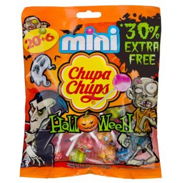 26 Halloween packaging mini chupa chup lollies £1 @ poundland instore