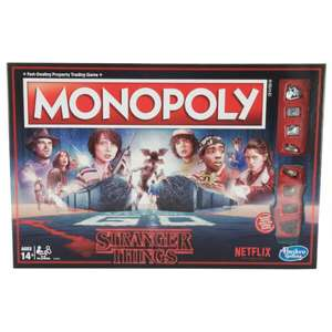 Stranger Things Monopoly £28.99 (£24.64 if new member) + Free Delivery @ IWOOT