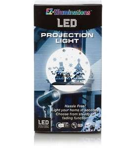 Christmas LED Projection Lights from only £15 @ Asda George