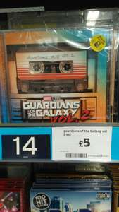 Gaurdians of the Gallaxy Soundtrack Vol 2 CD - £5 instore @ Sainsbury's - Bournemouth