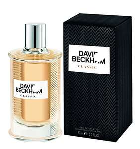 David Beckham, Classic Eau de Toilette for Him, 90 ml £9.75 (Prime), £13.70 (Non-Prime) @ Amazon