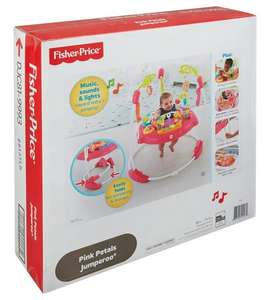 Misprice! £19.99 for  the Fisher Price Pink Petals Jumperoo at Studio!