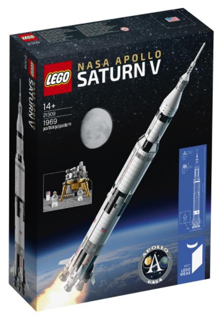 LEGO Ideas NASA Apollo Saturn V Rocket 21309 £110 @ Hamleys