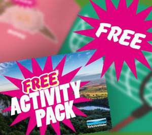Get outdoors this half term with our FREE activity pack!