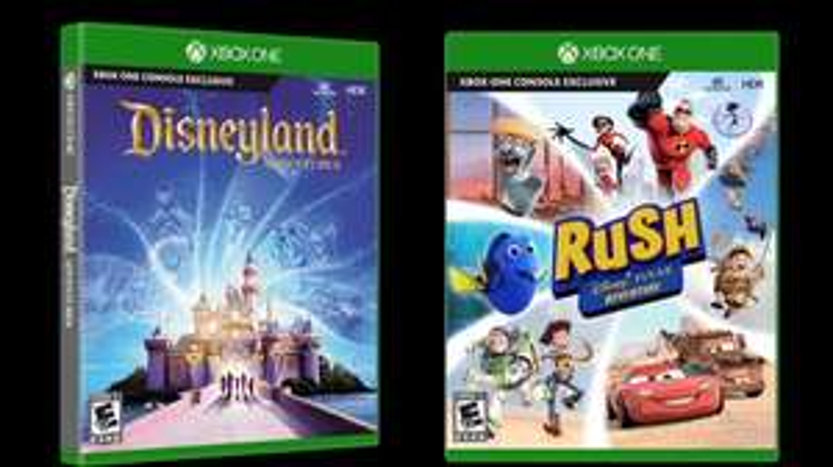 Disneyland Adventures and Rush: A Disney Pixar Adventure £15.85 each pre order @ ShopTo