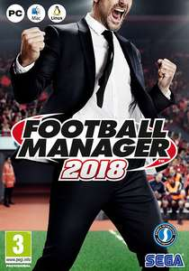 Football Manager 2018 Pre-Order with 5% FB Code - £25.64 @ CD Keys