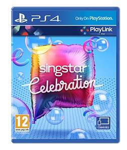 Singstar Celebration / Hidden Agenda / Knowledge is Power [PS4] Pre-Order (£12 Prime / £14 non-Prime) @ Amazon