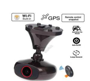 Original DDPAI M6 Plus Car DVR HD 1440P WIFI Car Dashcam Black box Remote Snapshot Video Recorder DVR GPS logger - £83.14 @ Ali Express Store: Shenzhen Smartway Technology Co., Ltd